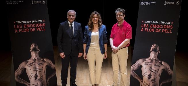 temporadas  Les Arts apuesta por el gran repertorio lírico, el ballet clásico, la zarzuela y la tradición valenciana