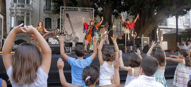para ninos  La Mar Chica, actividades gratuitas con música y talleres para los más pequeños