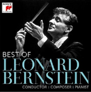 cdsdvds  Antología de Leonard Bernstein editada por Sony