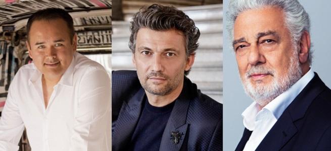 lirica  Plácido Domingo, Jonas Kaufmann y Javier Camarena visitan el Festival Castell de Peralada