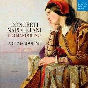 cdsdvds  Artemandoline recupera la música de los compositores napolitanos del siglo XVIII