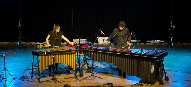 festivales  Mbira dúo presenta en los Marcos Históricos una original y sorprendente propuesta de percusión