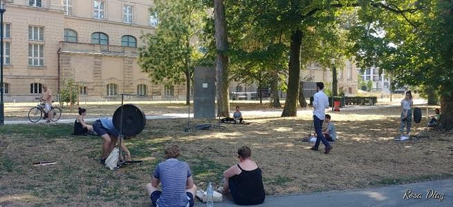 hacia el siglo 21  La percusión, punto de mira de los compositores en el Festival de Darmstadt
