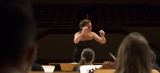 clasica  Lara Diloy debuta al frente de la Bilbao Orkestra Sinfonikoa