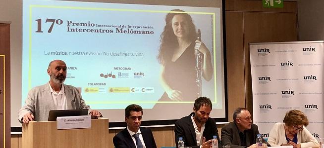 convocatorias concursos  17 º Premio Internacional de Interpretación Intercentros Melómano