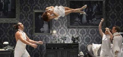 The Elephant in the Room, de la compañía francocanadiense Cirque Le Roux,