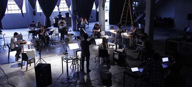 contemporanea  El Ensemble Container ofrece un Concierto Performance dentro del X Ciclo de Música Actual de Badajoz