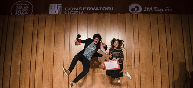 premios  El dúo formado por Magalí Sare y Sebatiá Gris, ganador de la I edición de la modalidad de jazz del Concurso de Juventudes Musicales