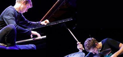 Jim Black & Elias Stemeseder en Jazz Madrid. © Emiliano Neri