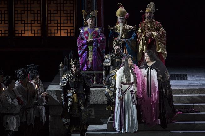reporturia  Turandot en el Palau de les Arts. Protagonismo usurpado