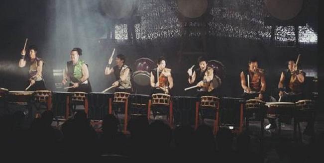 musicas del mundo  La percusión japonesa suena en los Teatros del Canal