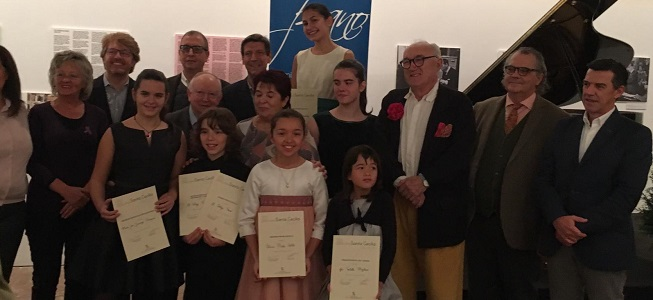 premios  La Fundación Don Juan de Borbón entrega los premios del 22 Premio Infantil de Piano Santa Cecilia