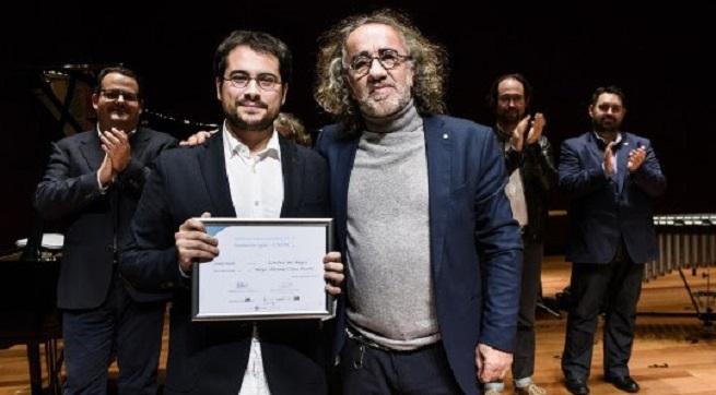 premios  El coruñés Hugo Gómez Chao Porta gana el 29 Premio Jóvenes Compositores 2018 Fundación SGAE CNDM