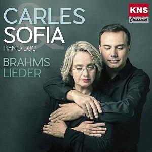 cdsdvds  Carles & Sofia presentan Brahms Lieder, piano para cuatro manos