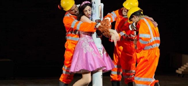 lirica  El Palau de les Arts reivindica la figura de la mujer en la nueva producción de Graham Vick de La flauta mágica