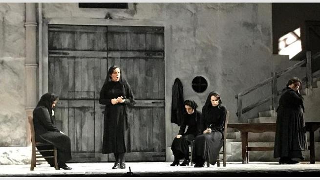 lirica  La casa de Bernarda Alba llega al Teatro de la Zarzuela
