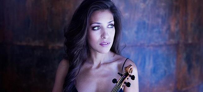 clasica  La violinista Leticia Moreno protagoniza los conciertos de la Sinfónica de Galicia en Vigo y A Coruña