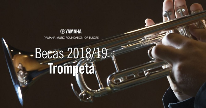 becas  Becas 2018/2019 de trompeta de la Yamaha Music Foundation of Europe