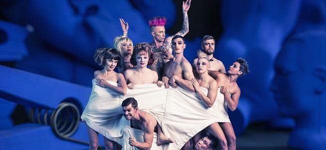 notas  El circo más gamberro y divertido llega al Teatro Circo Price de la mano de Circus Oz