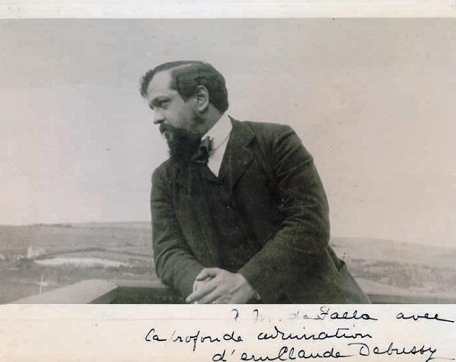 """clasica  24 Encuentros Manuel de Falla : """"Recordando a Claude Debussy"""" en la Galería Toro de Granada"""