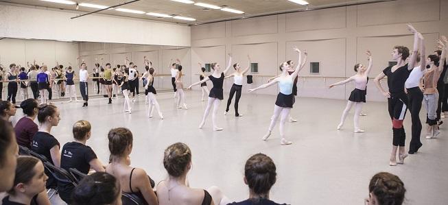 pruebas de acceso  Audición/taller de la European School of Ballet, de Amsterdam