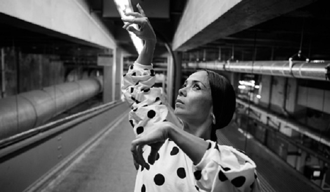 espanola  Olga Pericet presenta Enfoque (Buscando a Carmen Amaya) en el Corral de Comedias de Alcalá de Henares