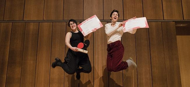 premios  Inés Moreno, ganadora de la primera edición del Concurso de Música Antigua de Juventudes Musicales de España