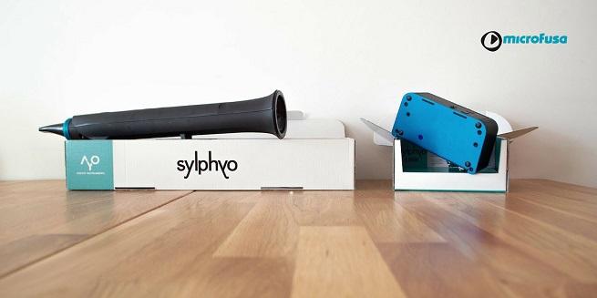 instrumentos  Sylphyo, un nuevo instrumento de viento, se presenta en tiendas Microfusa