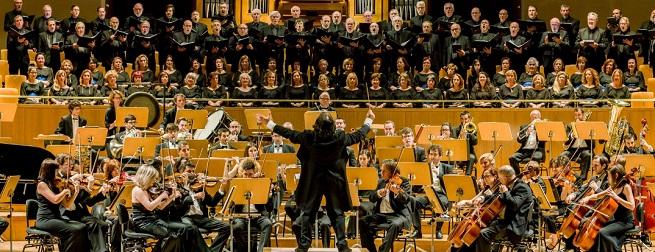 clasica  La 8ª Sinfonía de Mahler con la Orquesta y Coro Filarmonía de Madrid