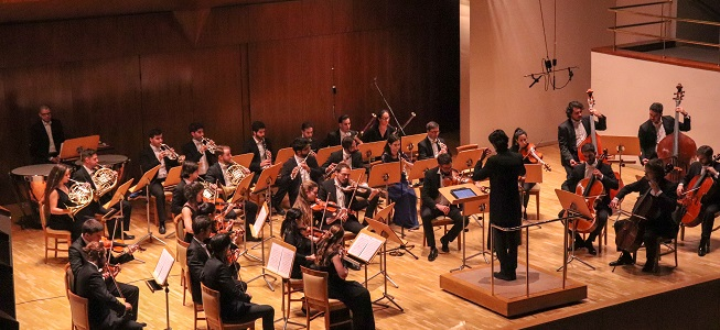 clasica  Inauguración del Ciclo de Solistas de la Madrid Festival Orchestra