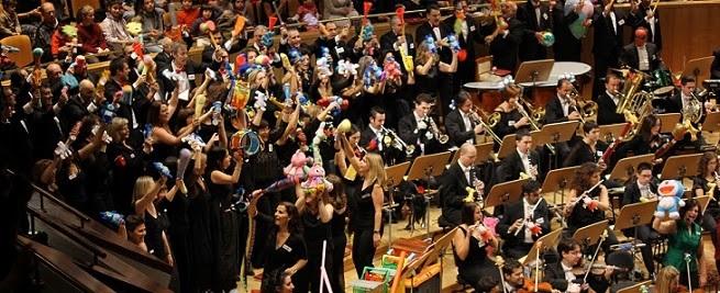 para ninos  Música y juguetes con la Orquesta Metropolitana y el Coro Talía