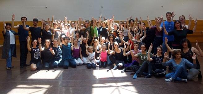 cursos  Clase magistral de danza en la sede de la CND