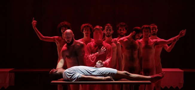 contemporanea danza  Los Teatros del Canal presentan The Scarlet Letter, de Angélica Liddell