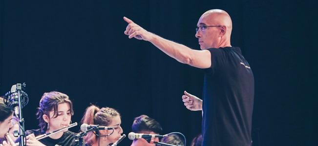 actualidad de centros  Concierto de la Creativa Junior Big Band, bajo la dirección de Patxi Pascual, en Bogui Jazz