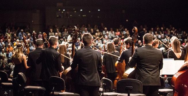 actualidad de centros  La Orquesta Sinfónica y la Big Band de Musikene actúan en San Sebastián