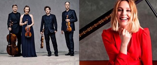 clasica  El Cuarteto Signum y la pianista Judith Jáuregui visitan el ciclo Liceo de Cámara XXI