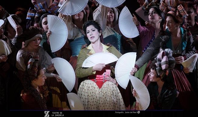 lirica  El Barberillo de Lavapiés, intrigas amores y enredos, en el Teatro de la Zarzuela