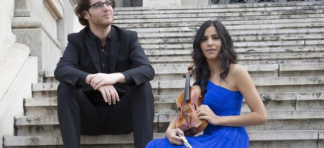 clasica  The London Music N1gths presentan al dúo formado por la violinista Ana María Valderrama y el pianista Luis del Valle
