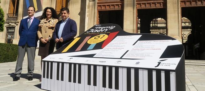 """concursos  Un total de 42 pianistas de 16 países se inscriben para participar en el 61º Premio """"Jaén"""" de Piano de la Diputación"""