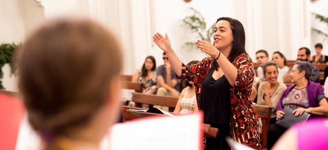 cursos de verano 2019  37 Academia de Dirección Coral del País Vasco