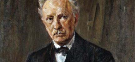 Max Liebermann, Retrato de Richard Strauss (óleo sobre lienzo, 1918), Berlín, Alte Nationalgalerie