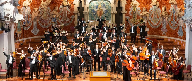 clasica  Concierto solidario de la Jove Orquestra Simfònica de Barcelona