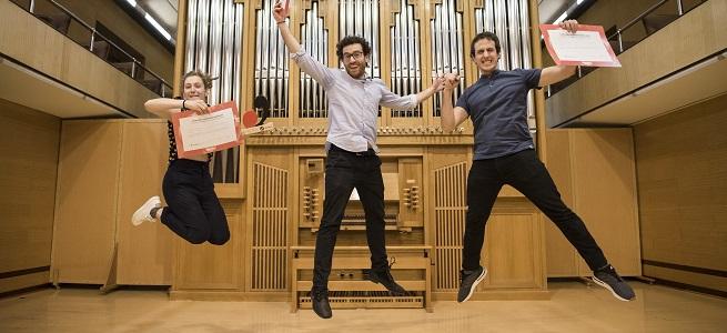 premios  El Trío Zukan, Primer Premio del Concurso de Cámara de Juventudes Musicales de España