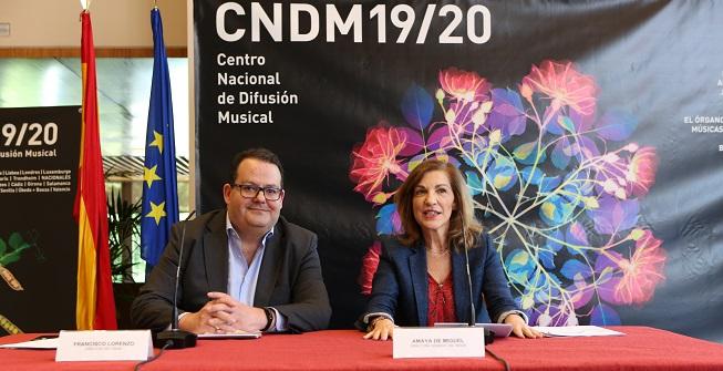 temporadas  Más de 300 actividades conforman la nueva temporada del Centro Nacional de Difusión Musical