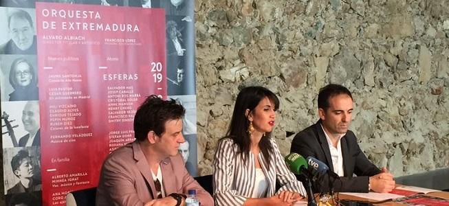 temporadas  La Orquesta de Extremadura presenta su nueva temporada 2019/2020 bajo el título Esferas