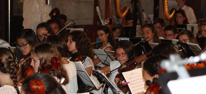 cursos de verano 2019  Cien niños y jóvenes estudiantes de música en el IX Encuentro Orquestal Sinfónico (EOS 19) de Alba de Tormes