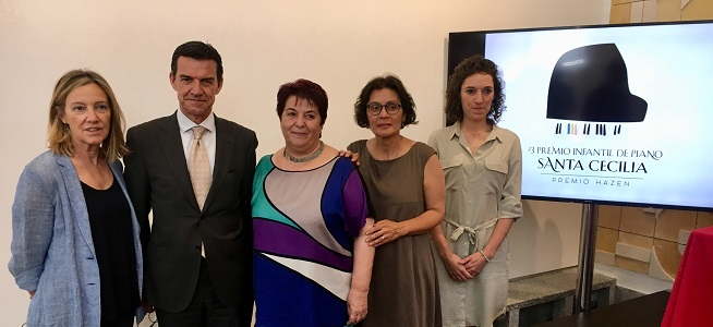 concursos  La Fundación Don Juan de Borbón y la Casa Hazen se alían para la celebración del Premio Infantil de Piano Santa Cecilia