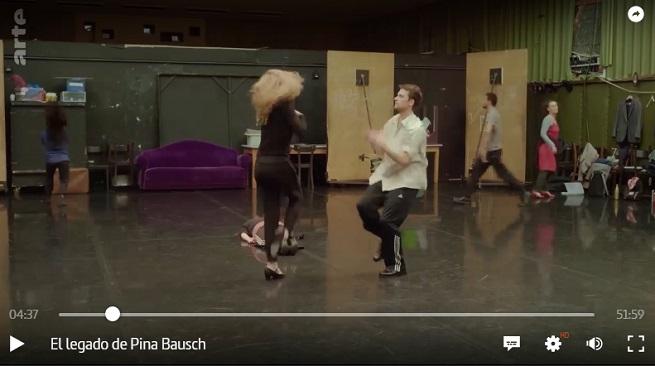 contemporanea danza  El legado de Pina Bausch, en Arte.tv