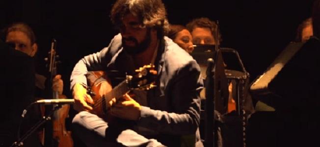 entrevistas  Daniel Casares, guitarra solista del Concierto de Aranjuez en las Noches del Botánico