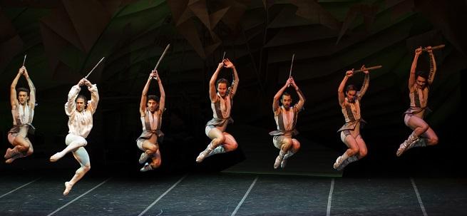 opinion  El Ballet Nacional de Sodre conquista el FIS con El Quijote del Plata
